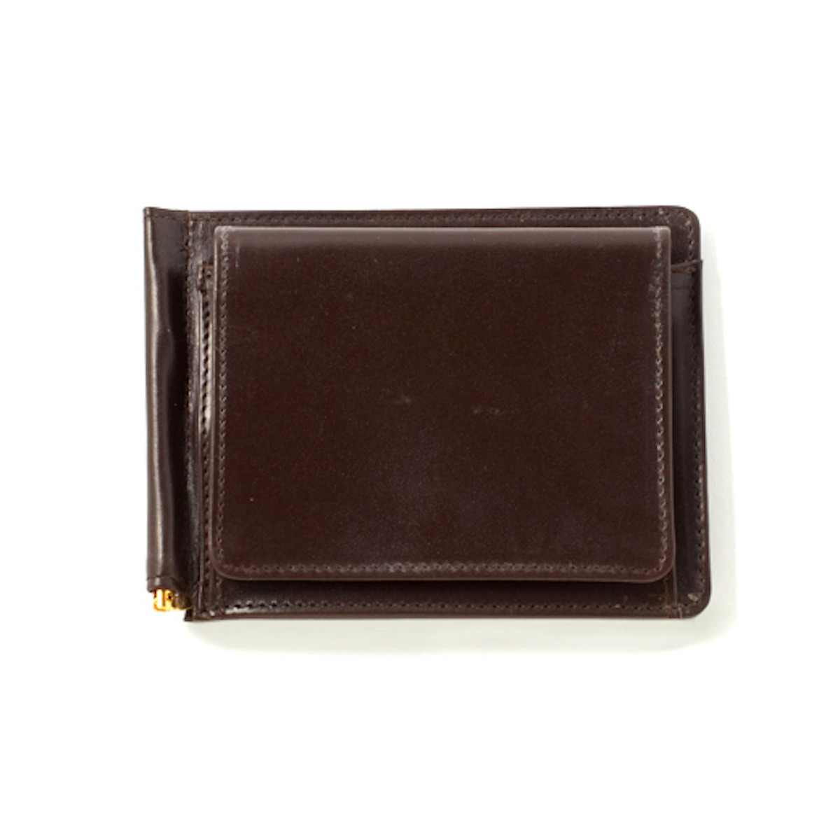 GLENROYAL / MONEY CLIP WITH COIN POCKET -CIGAR