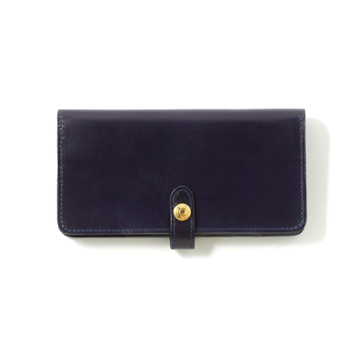 GLEN ROYAL / ROUND LONG PURSE -DARK BLUE