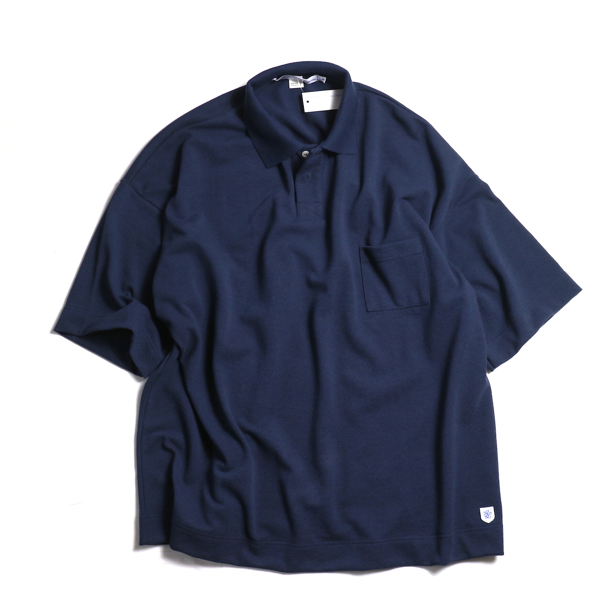 Glacon / Pique Big Polo -Marine