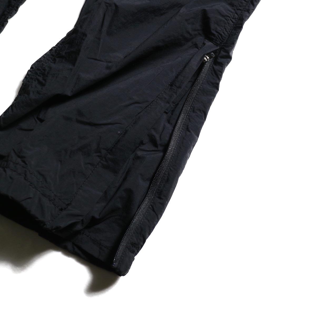 GRAMICCI / Packable Truck Pants (Black) 裾ジップ