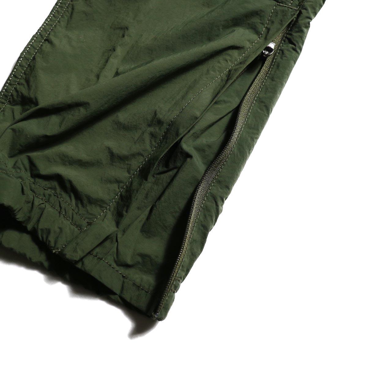 GRAMICCI / Packable Truck Pants (Olive) 裾ジップ