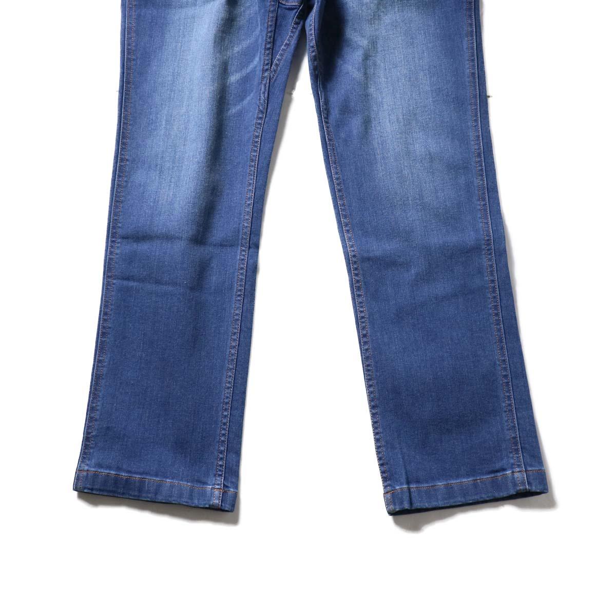 GRAMICCI / DENIM NN-PANTS JUST CUT (Dark Used)裾