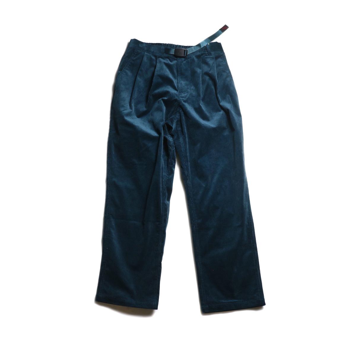 GRAMICCI (Ladie's) / CORDUROY GURKHA PANTS (Deep Blue)