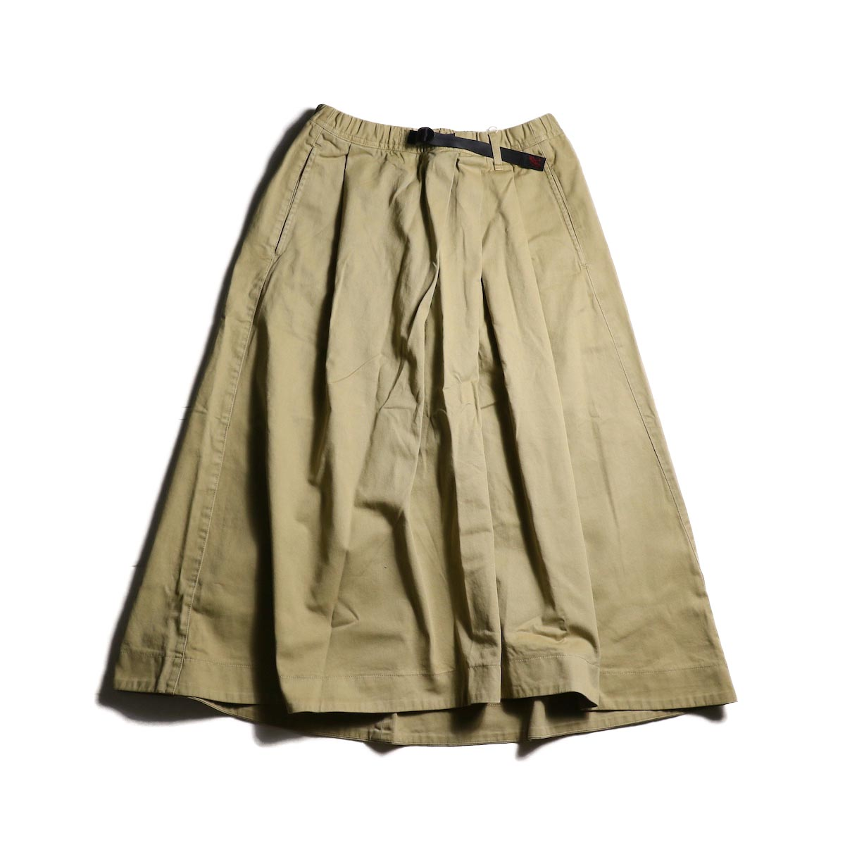 (Ladie's) GRAMICCI / Tale Cut Skirt (Chino)