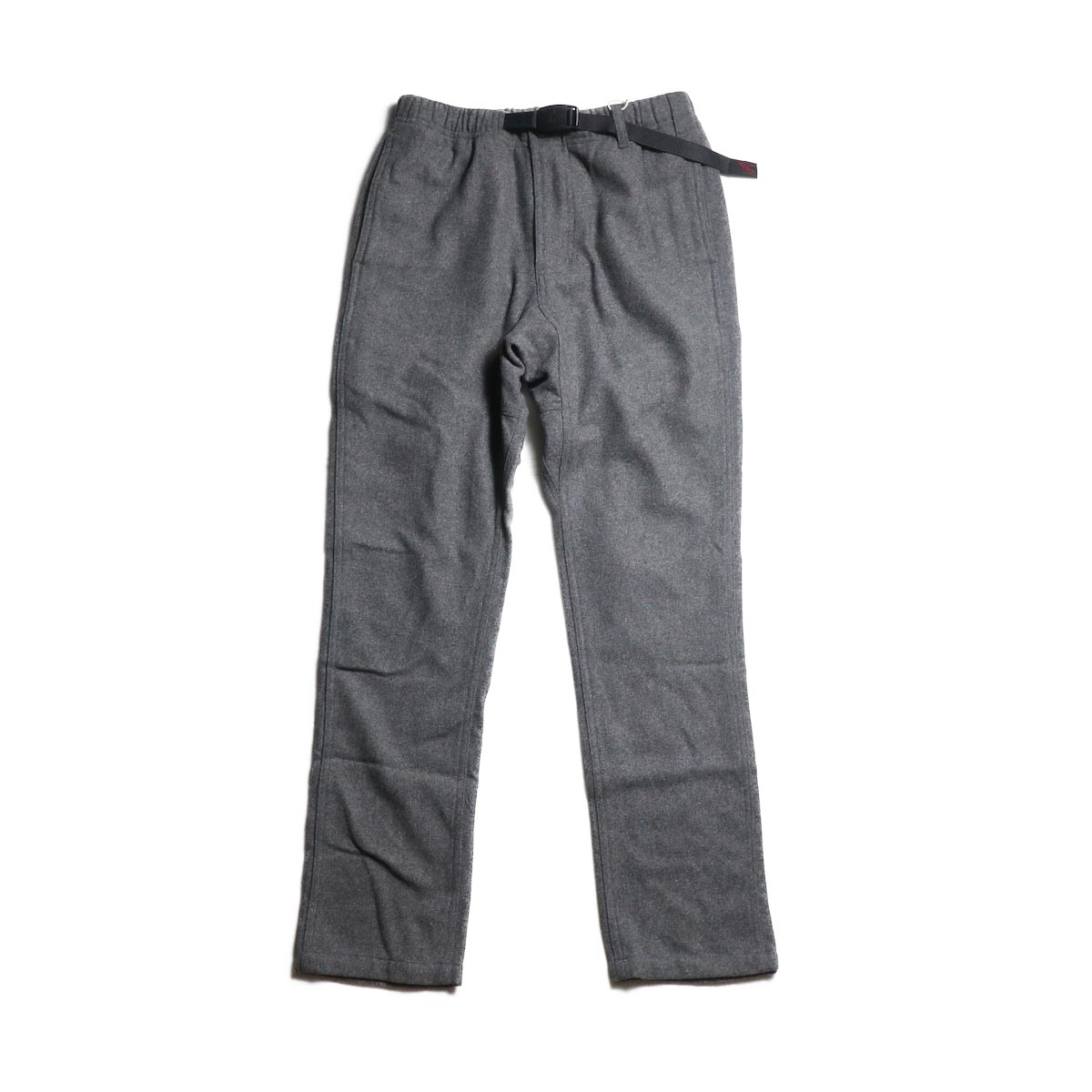 GRAMICCI / WOOL BLEND NN-PANTS JUST CUT (Heather Charcoal)