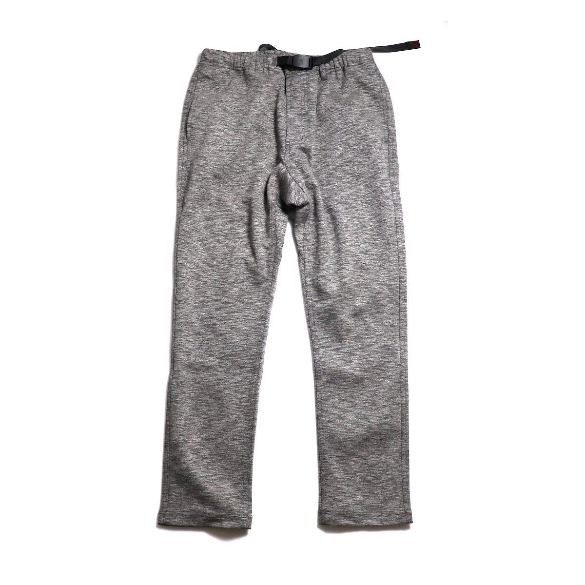GRAMICCI / Coolmax Knit NN-Pants Tight Fit -Heather Charcoal
