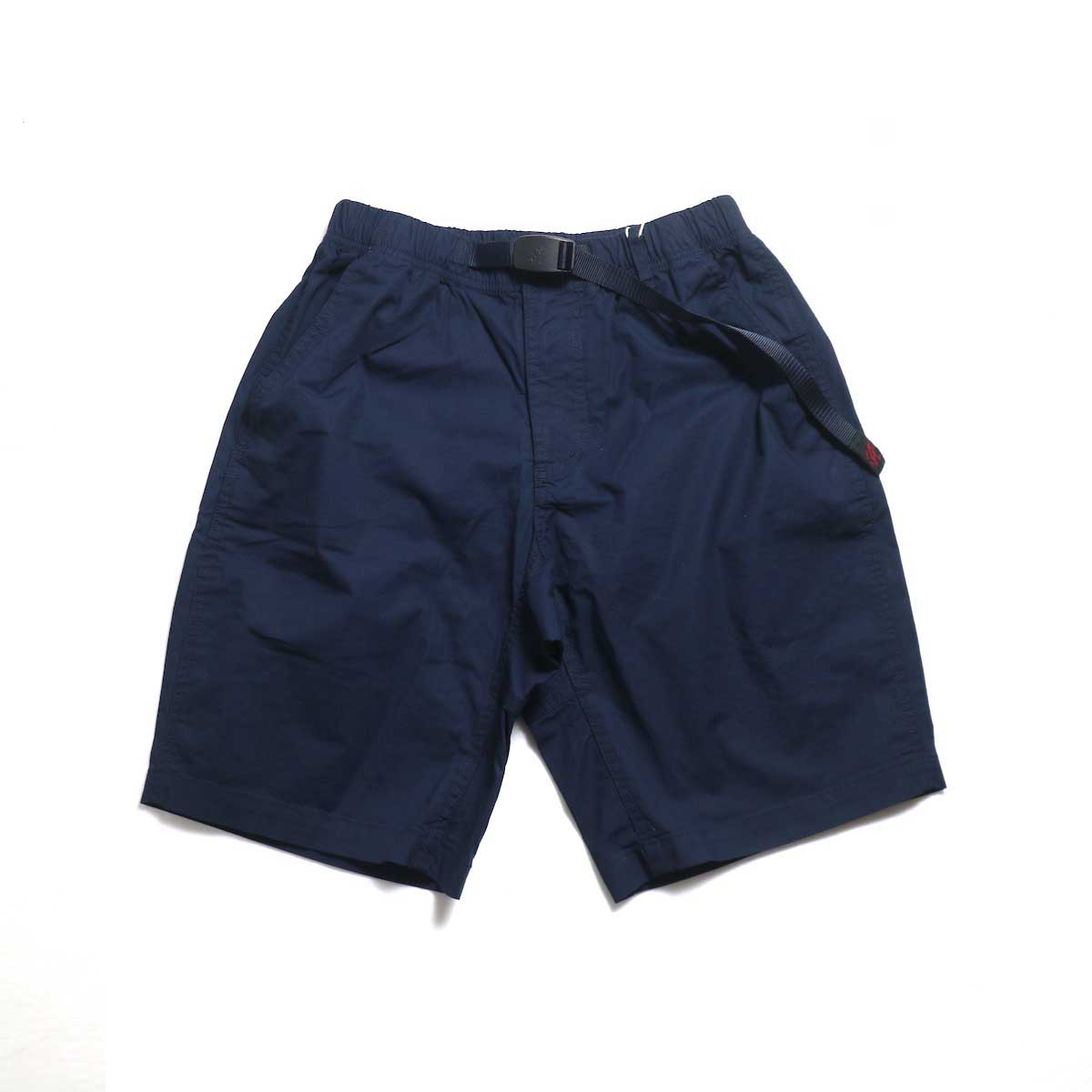 GRAMICCI / WEATHER ST-SHORTS -Double Navy 正面