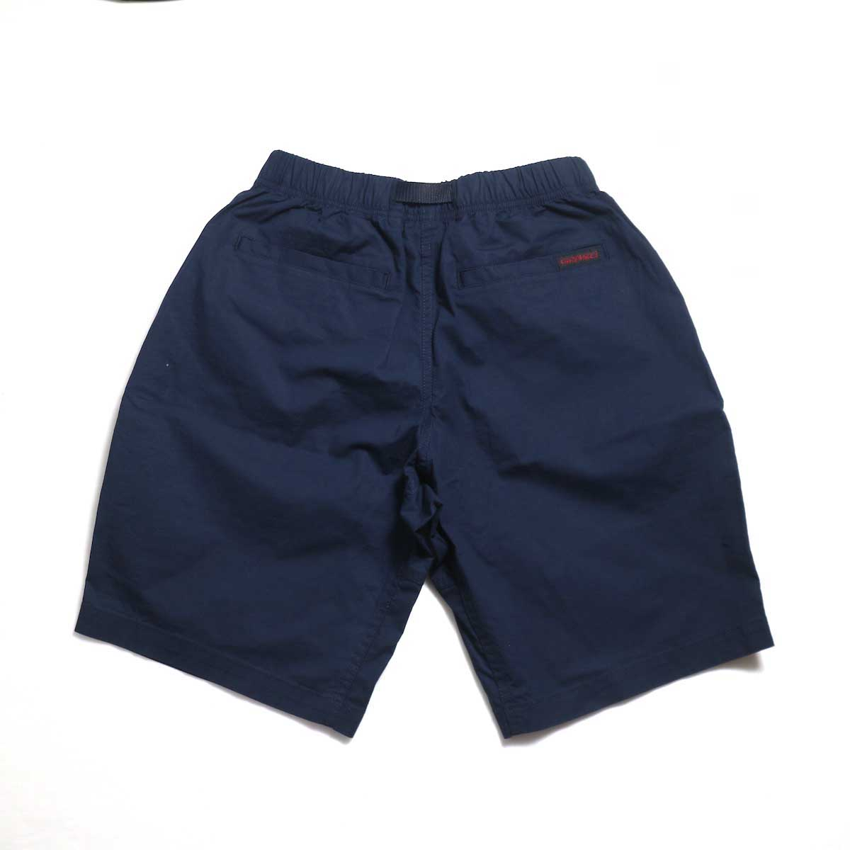 GRAMICCI / WEATHER ST-SHORTS -Double Navy 背面