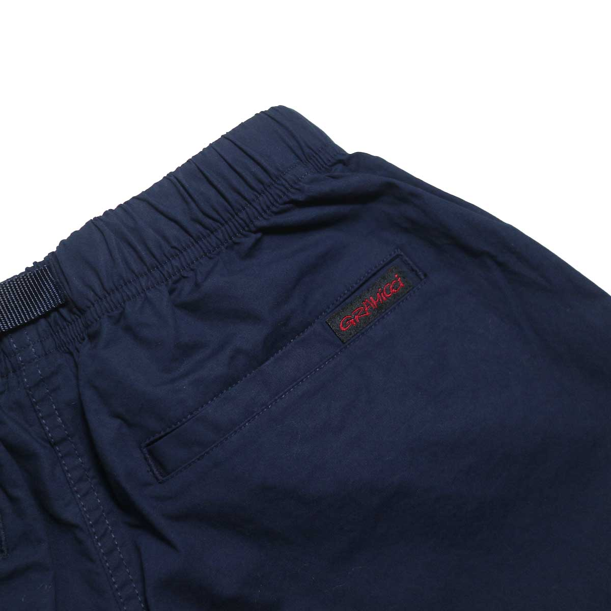 GRAMICCI / WEATHER ST-SHORTS -Double Navy ヒップポケット
