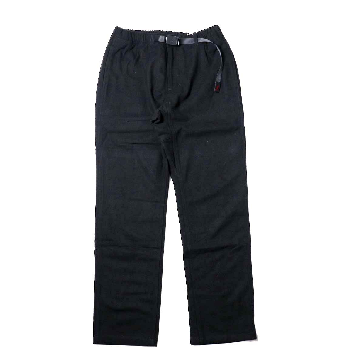 GRAMICCI / WOOL BLEND ST-PANTS (Black)正面