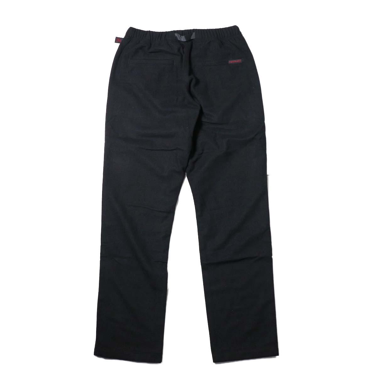 GRAMICCI / WOOL BLEND ST-PANTS (Black)背面