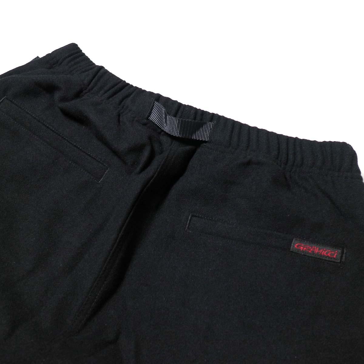 GRAMICCI / WOOL BLEND ST-PANTS (Black)ヒップポケット