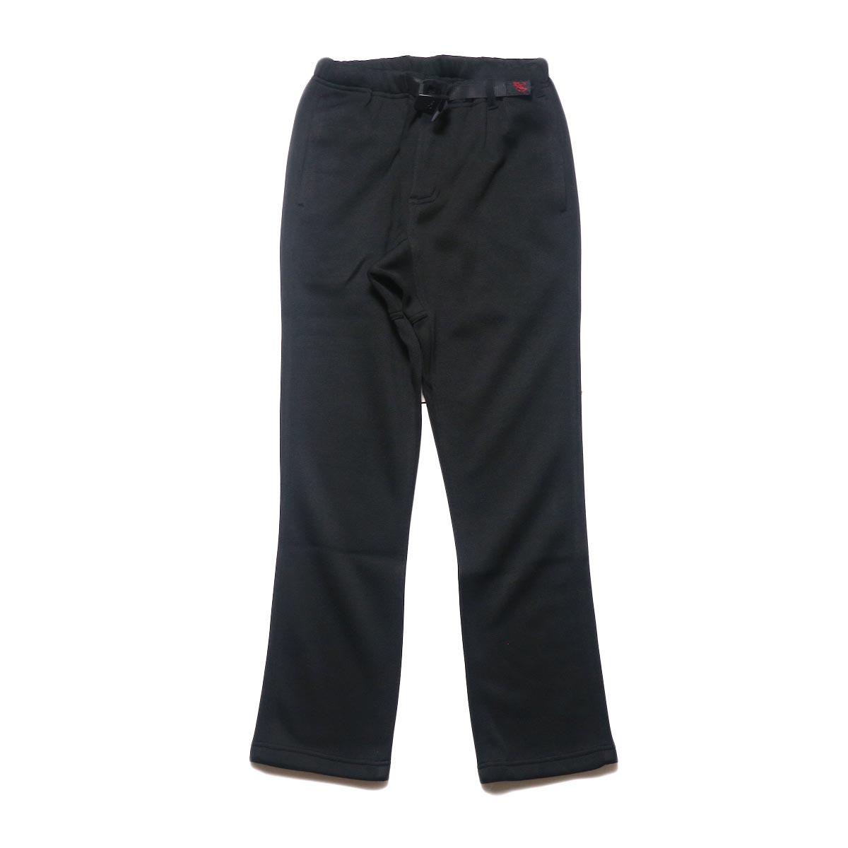 GRAMICCI / BONDING KNIT FLEECE NN-PANTS JUST CUT (Black)