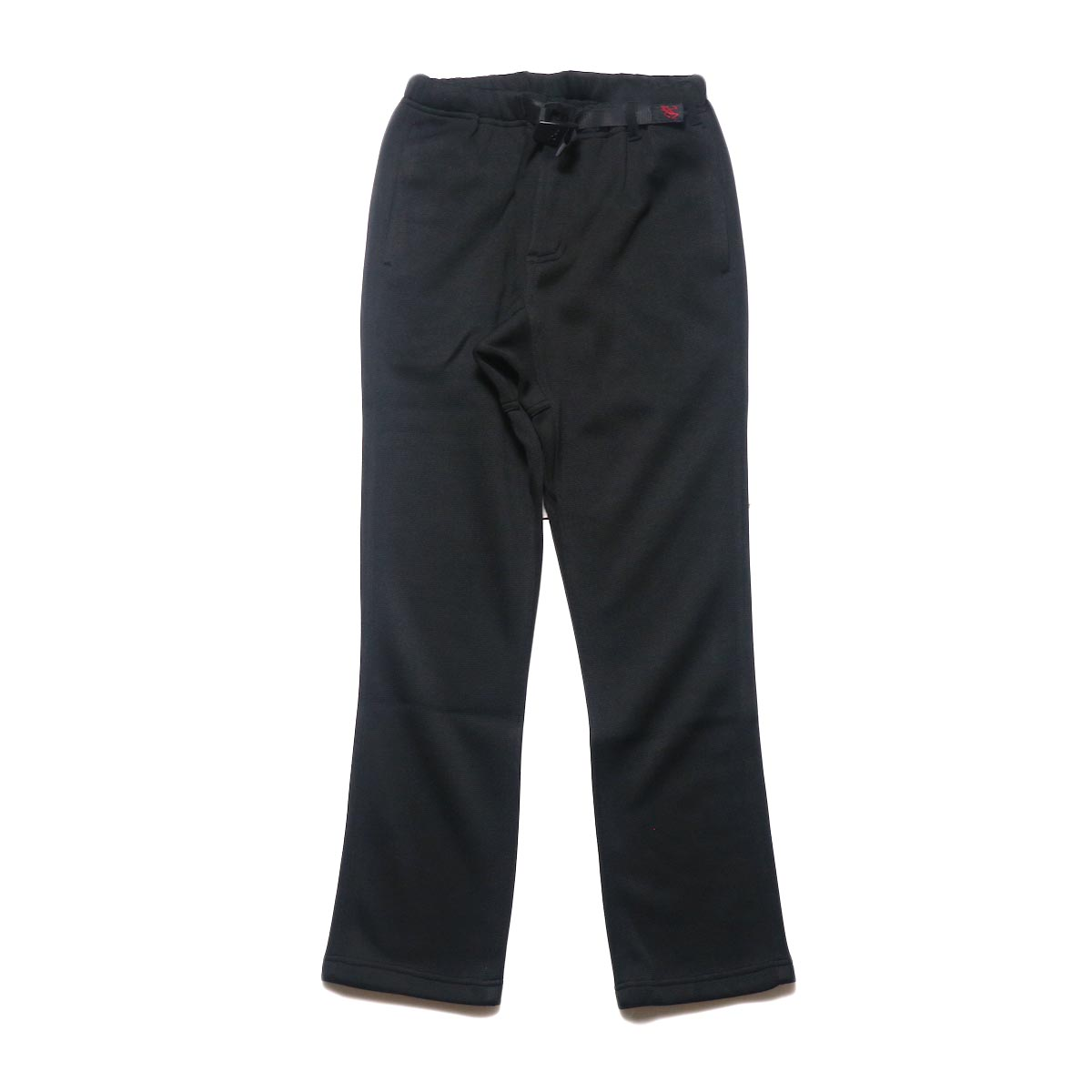 GRAMICCI / BONDING KNIT FLEECE NN-PANTS JUST CUT (Black)正面