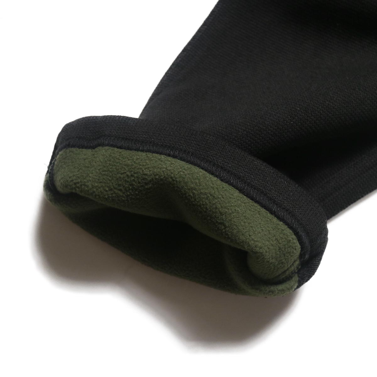 GRAMICCI / BONDING KNIT FLEECE NN-PANTS JUST CUT (Black)フリース素材