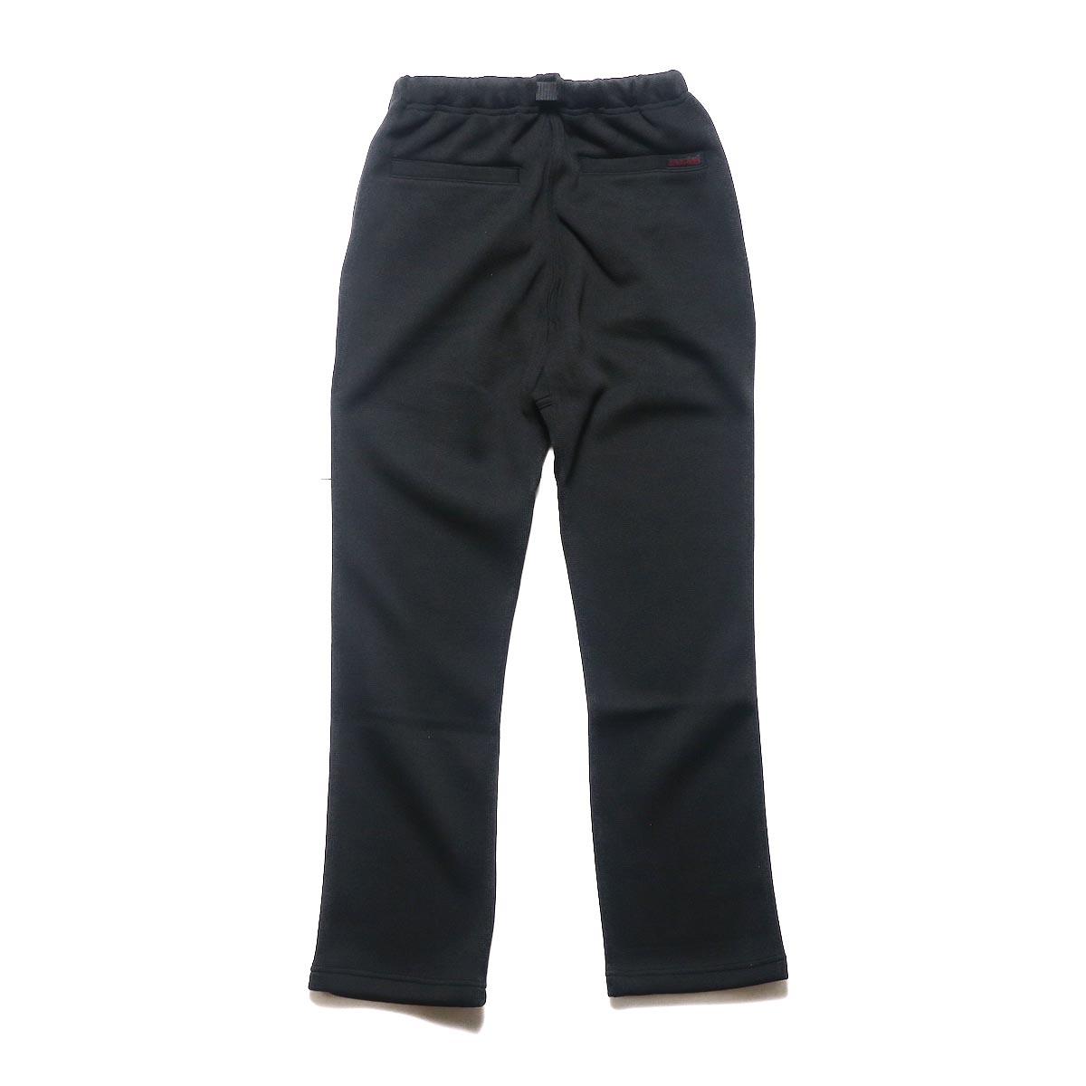 GRAMICCI / BONDING KNIT FLEECE NN-PANTS JUST CUT (Black)背面