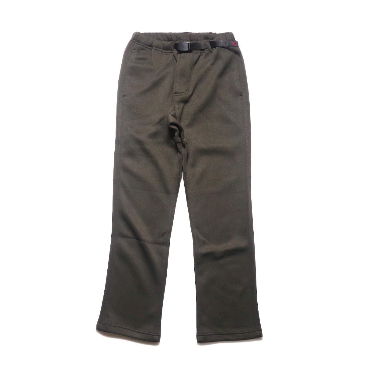 GRAMICCI / BONDING KNIT FLEECE NN-PANTS JUST CUT (Dark Brown)正面