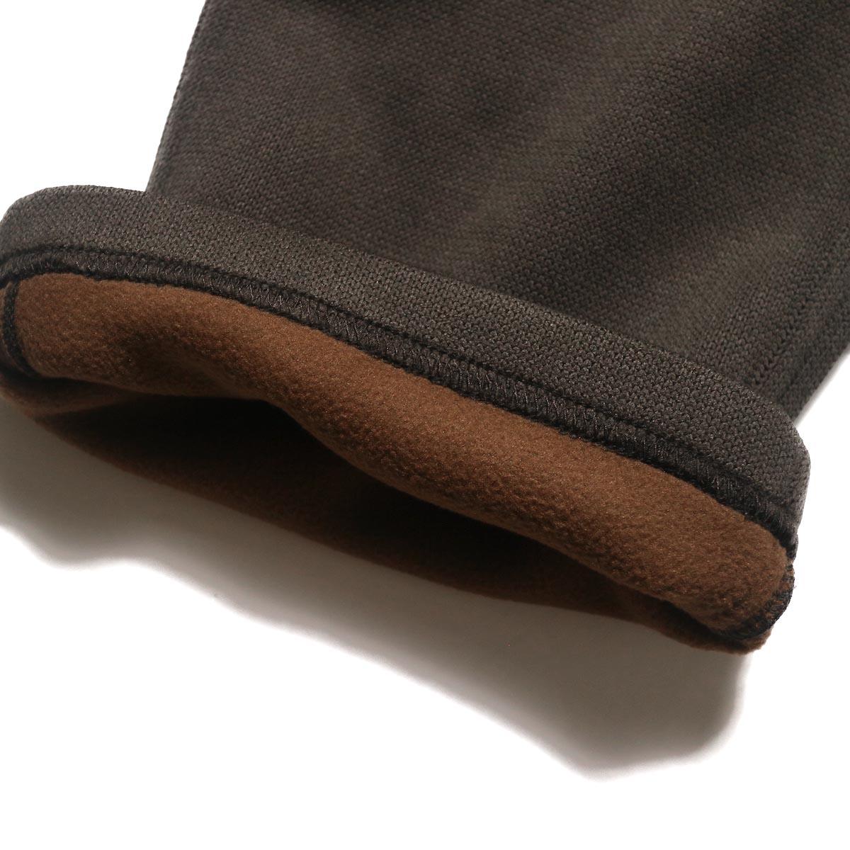 GRAMICCI / BONDING KNIT FLEECE NN-PANTS JUST CUT (Dark Brown)フリース素材