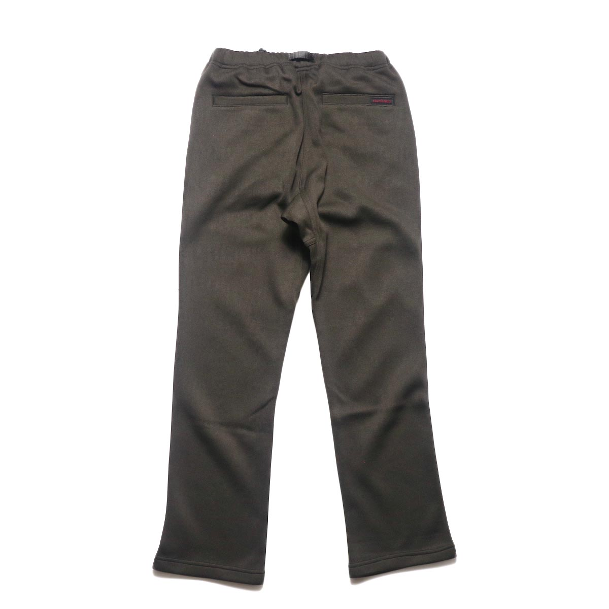 GRAMICCI / BONDING KNIT FLEECE NN-PANTS JUST CUT (Dark Brown)背面