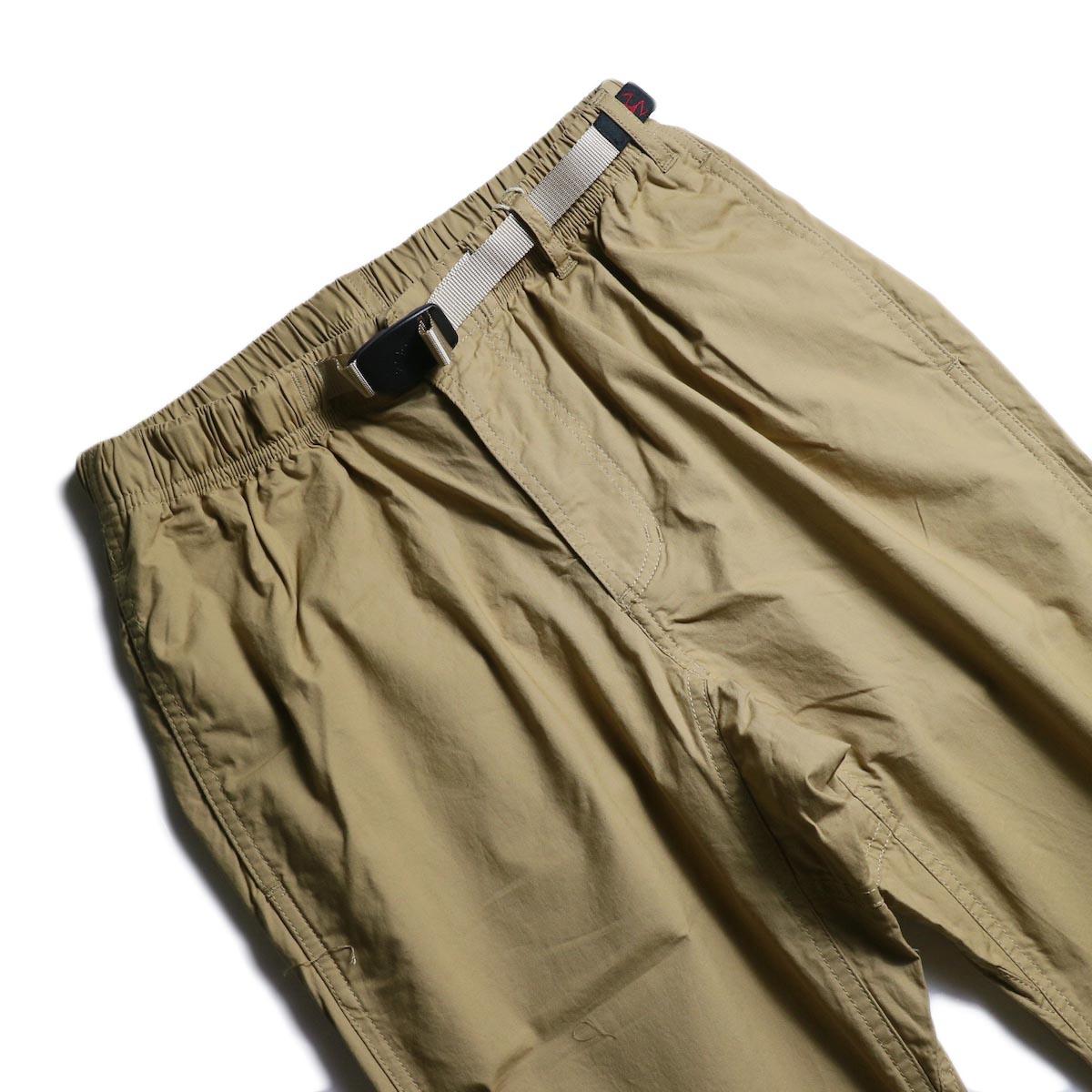 GRAMICCI / Weather NN-Pants Just Cut (Sand)ウエスト