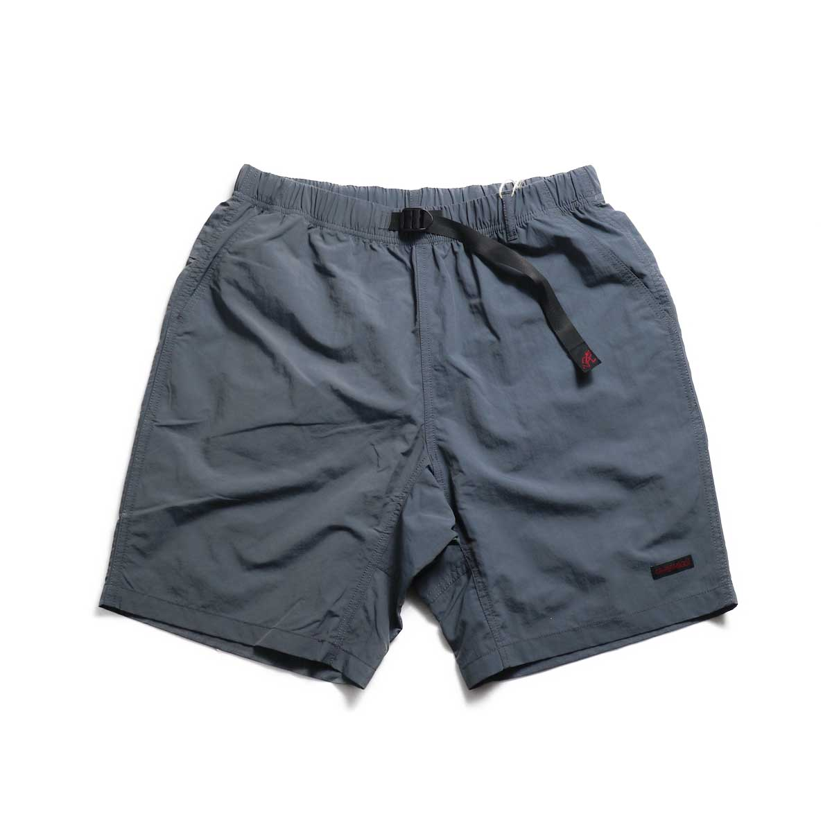 GRAMICCI / Shell Packable Shorts -Charcoal 正面