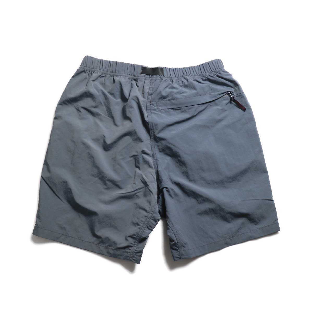 GRAMICCI / Shell Packable Shorts -Charcoal 背面