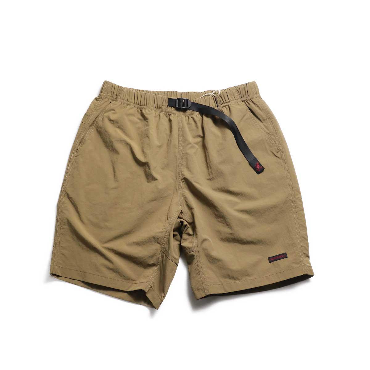 GRAMICCI / Shell Packable Shorts -Tan
