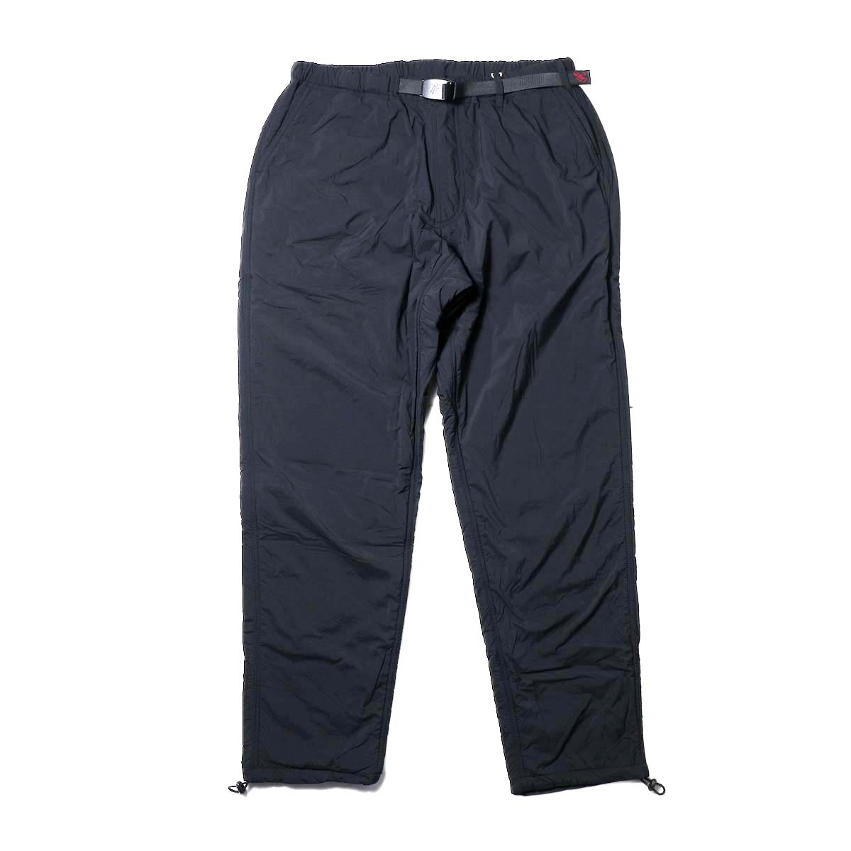GRAMICCI / NYLON-FLEECE TRUCK PANTS (Black)
