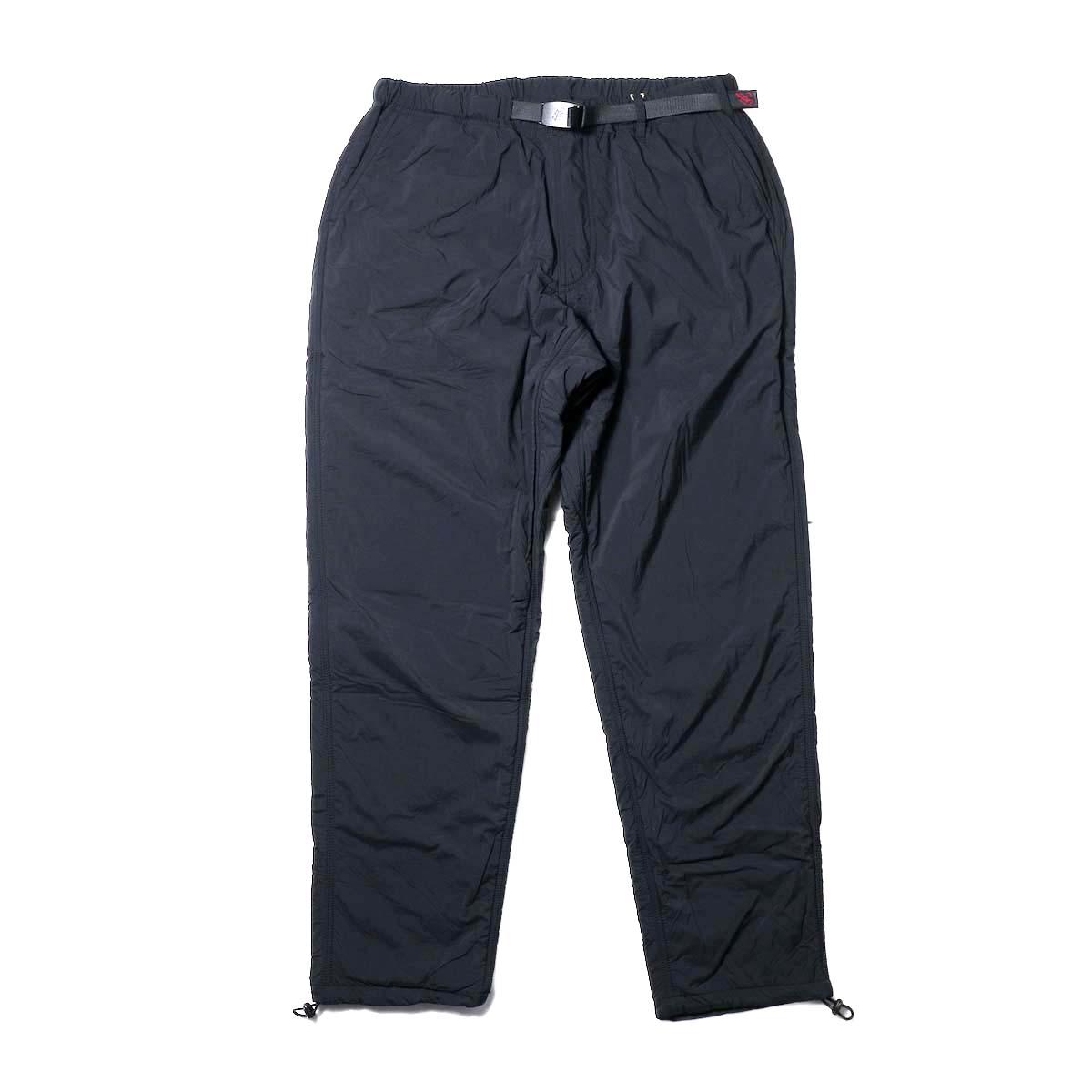 GRAMICCI / NYLON-FLEECE TRUCK PANTS (Black)