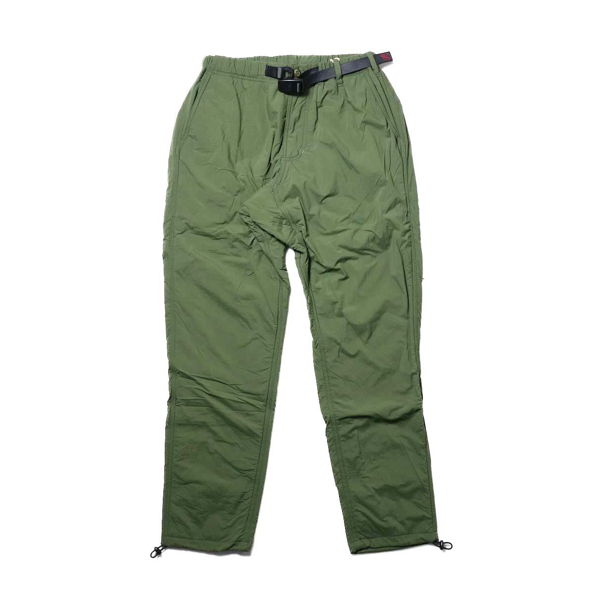 GRAMICCI / NYLON-FLEECE TRUCK PANTS (Olive)