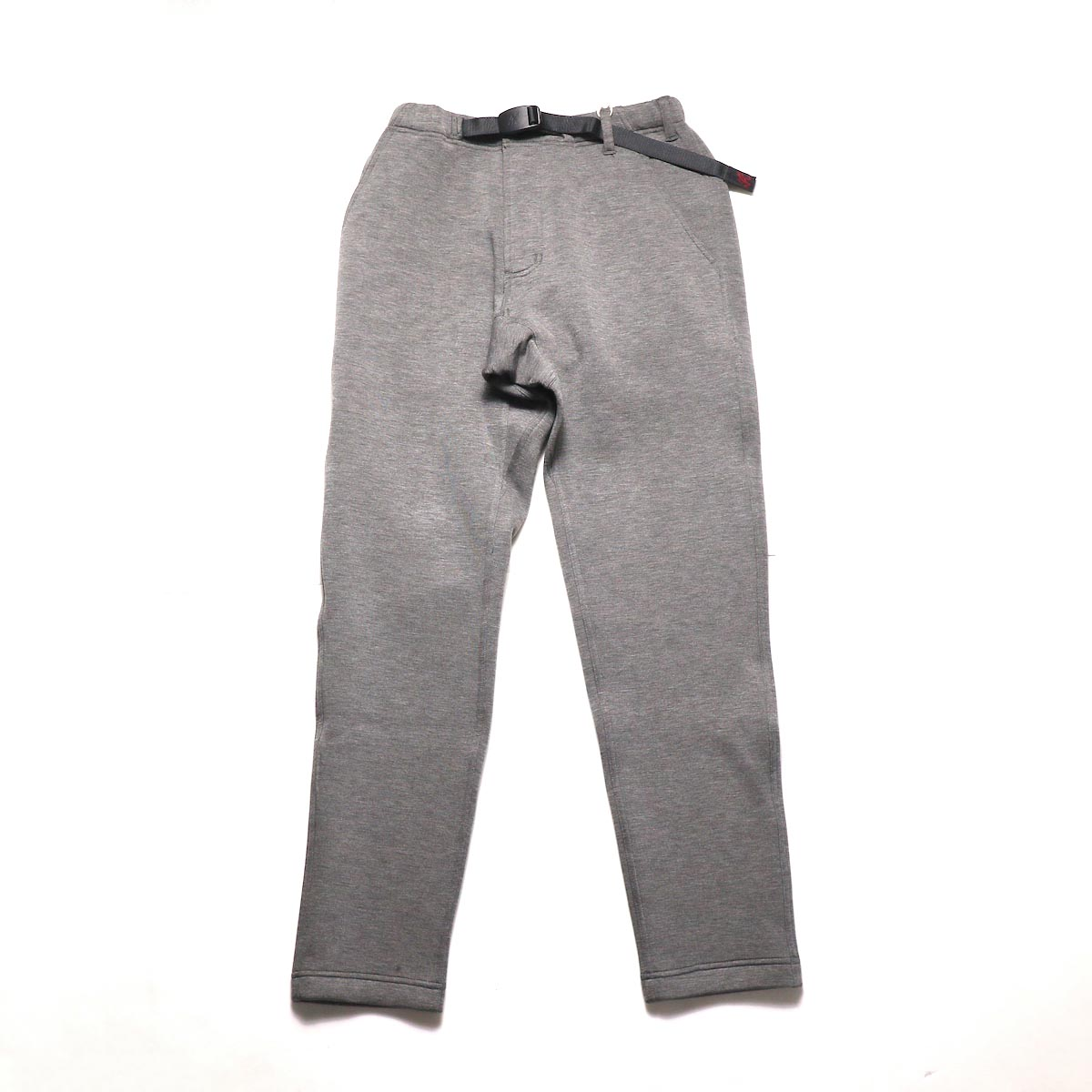 GRAMICCI / TECK KNIT SLIM FIT PANTS (Heather Charcoal)正面