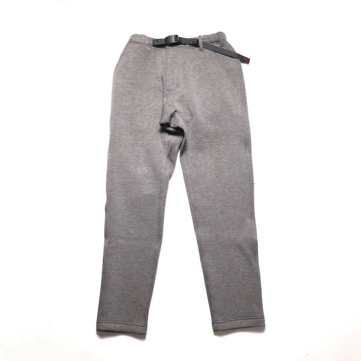 GRAMICCI / TECK KNIT SLIM FIT PANTS (Heather Charcoal)