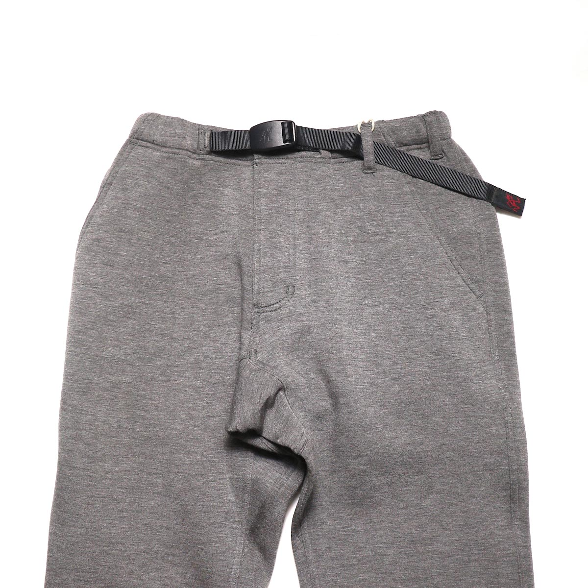 GRAMICCI / TECK KNIT SLIM FIT PANTS (Heather Charcoal)ウエスト