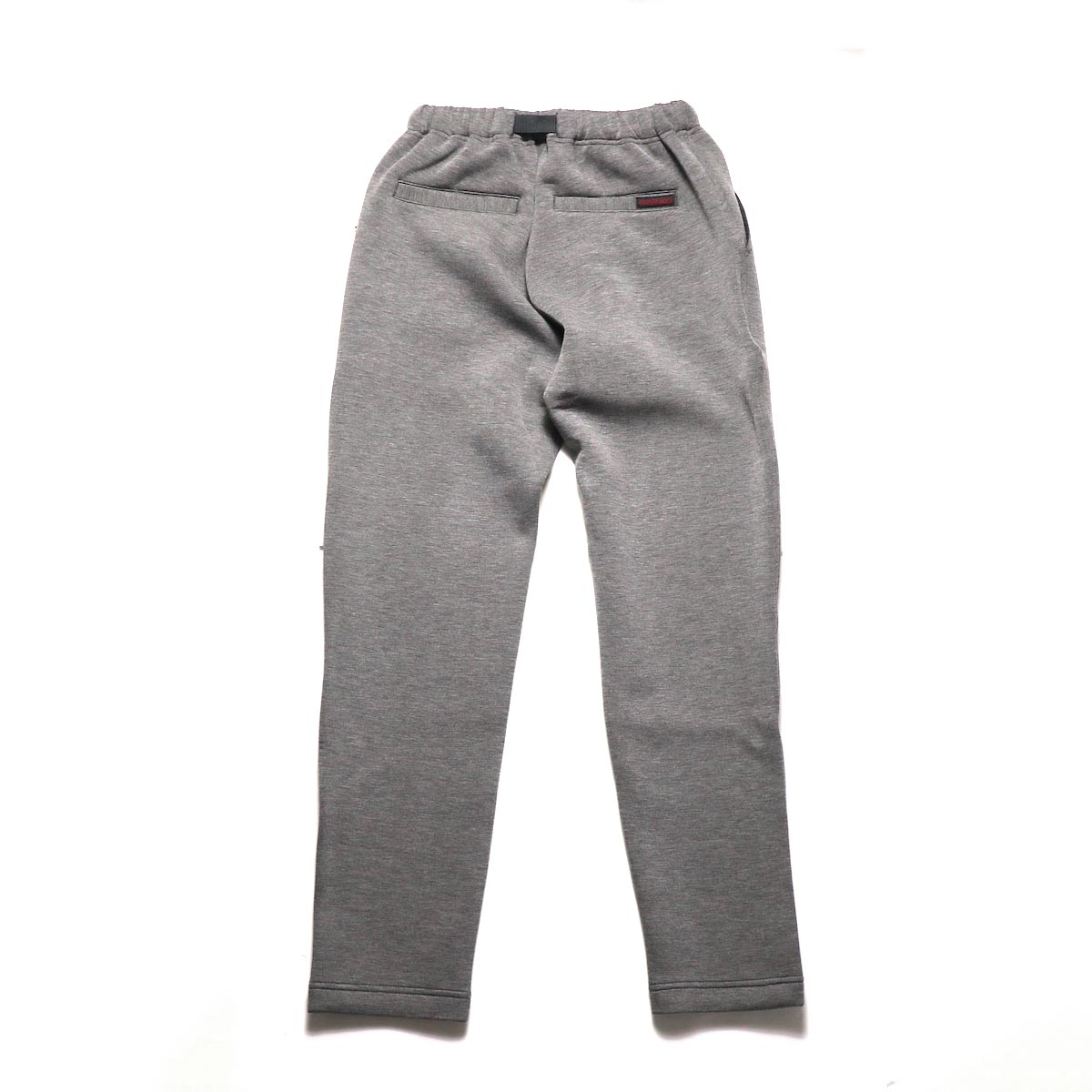 GRAMICCI / TECK KNIT SLIM FIT PANTS (Heather Charcoal)背面