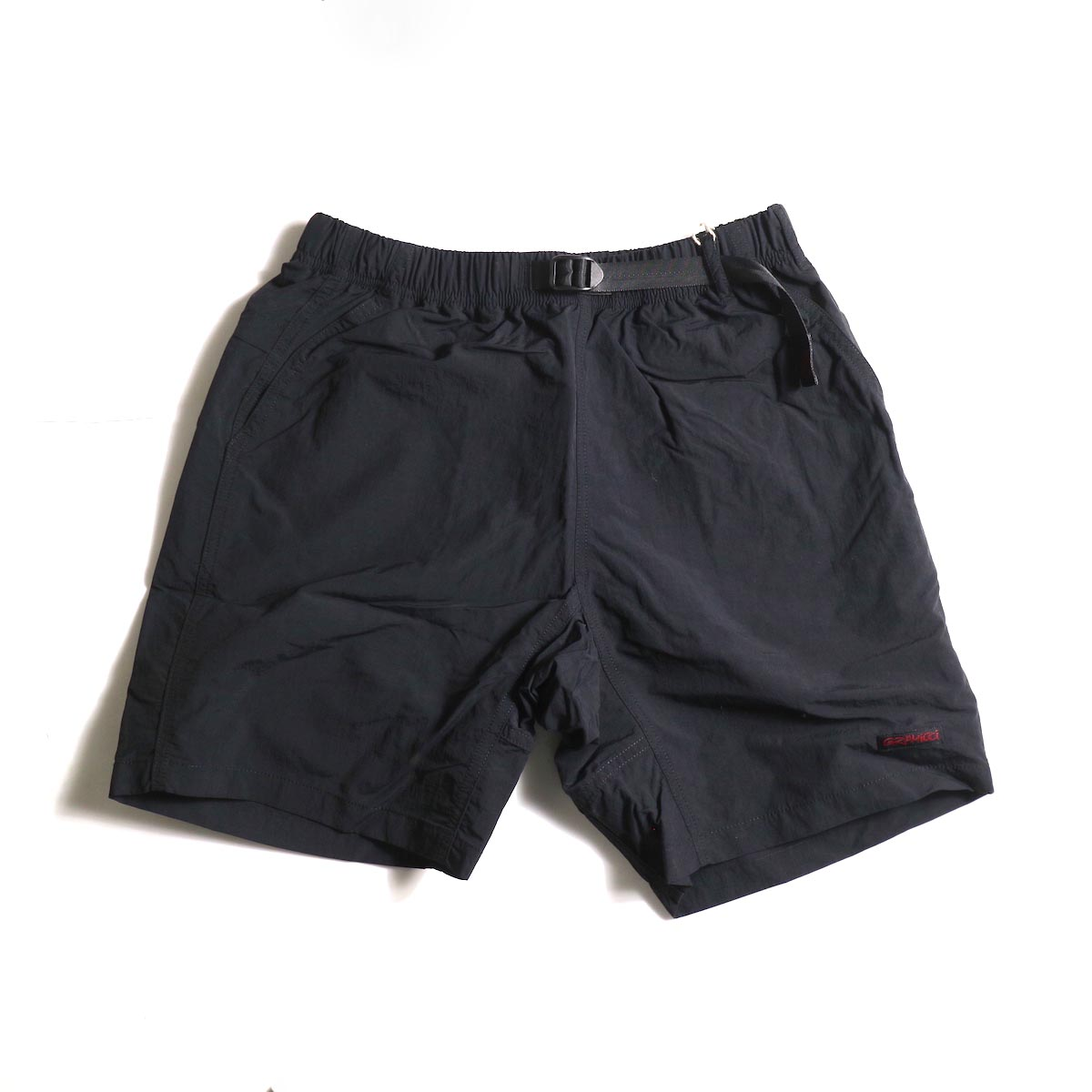 GRAMICCI / Shell Packable Shorts (Black)正面