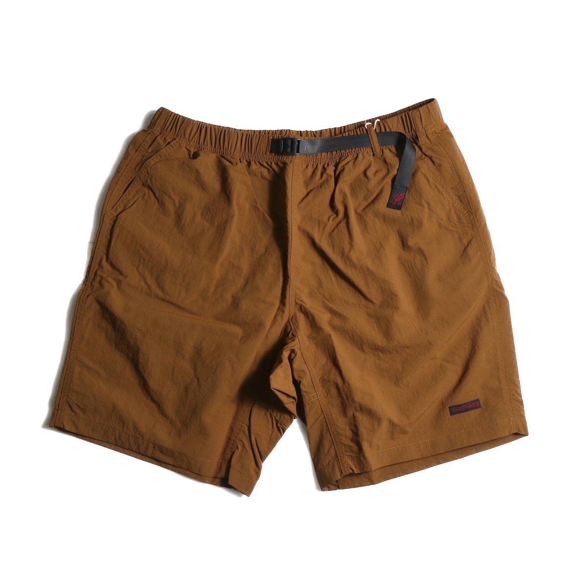 GRAMICCI / Shell Packable Shorts (Mocha)正面