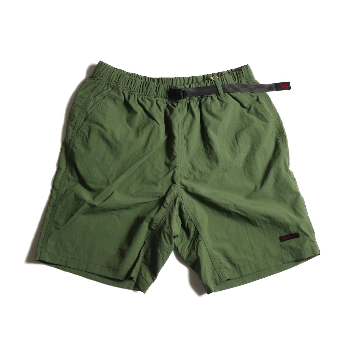 GRAMICCI / Shell Packable Shorts (Olive)正面