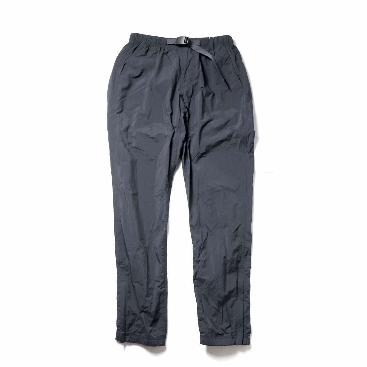 GRAMICCI / PACKABLE TRACK PANTS (Black)