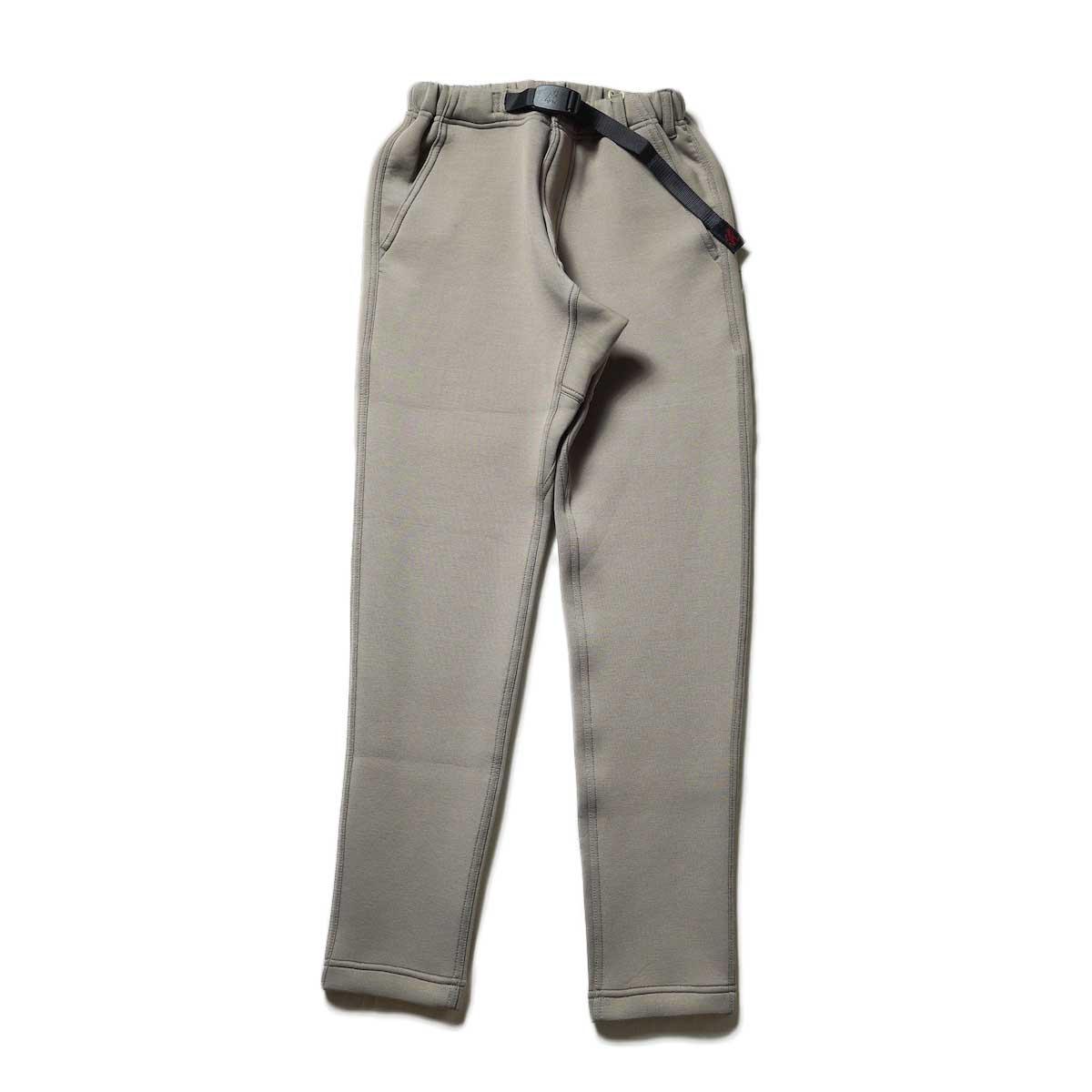 GRAMICCI / TECH KNIT SLIM FIT PANTS (Walnut)
