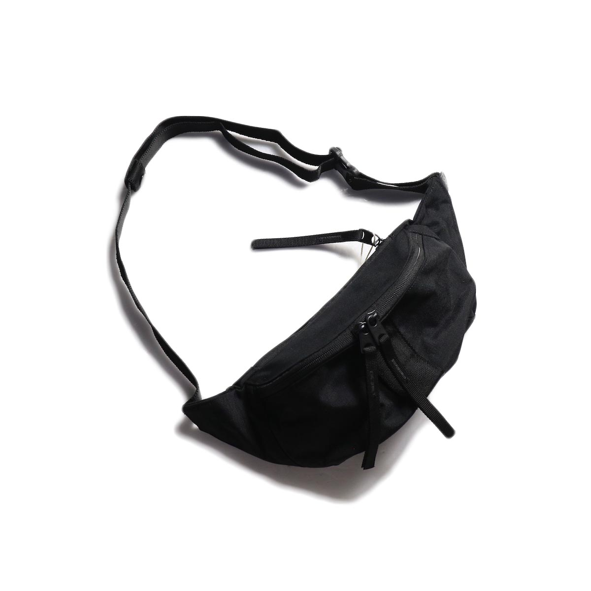 HOBO / Polyester Canvas Waist Bag -Black