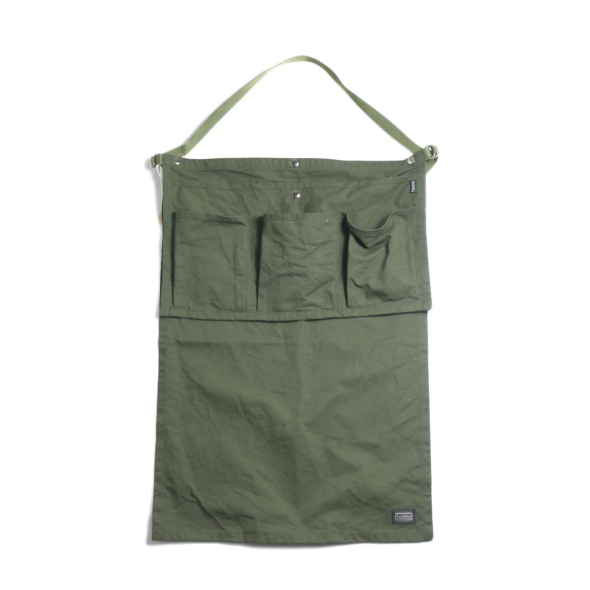 HOBO / Cotton Twill Gardener Apron by LAND & B.C. -Olive