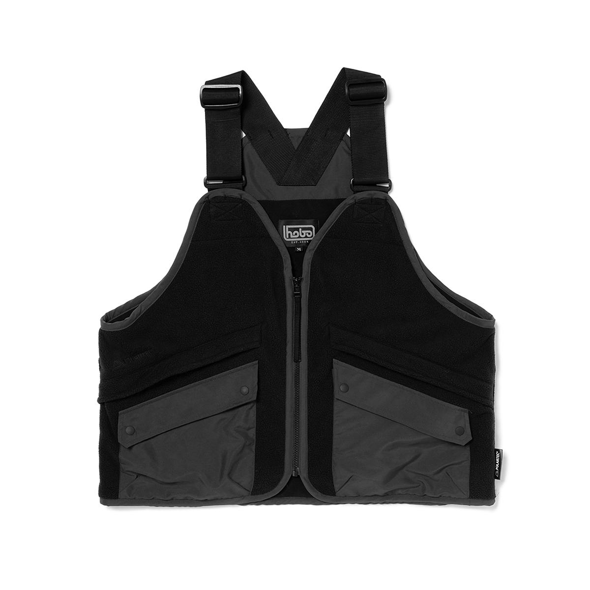 HOBO / POLARTEC® WIND PRO® Fleece Vest (Black)