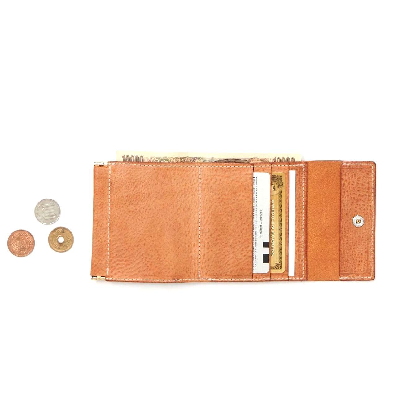 Hender Scheme / clasp wallet 収納イメージ
