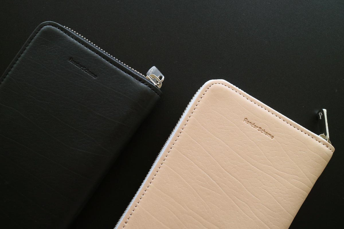 Hender Scheme / long zip purse 2色