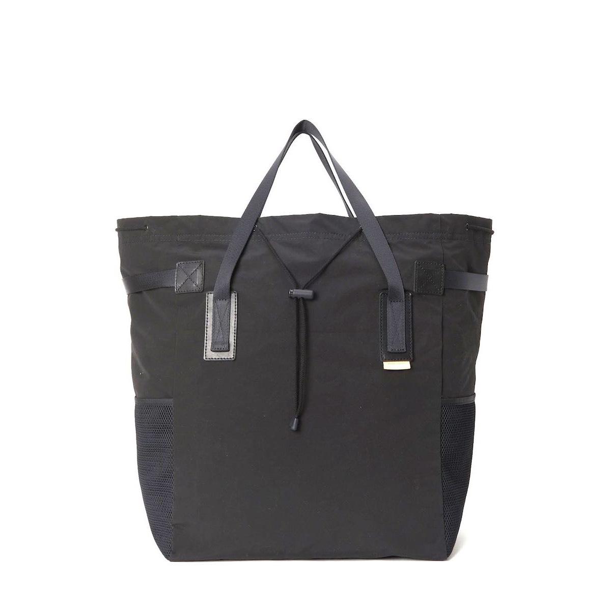 Hender Scheme / functional tote bag (Black)正面