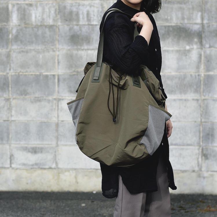 Hender Scheme / functional tote bag (Khaki Olive)イメージ
