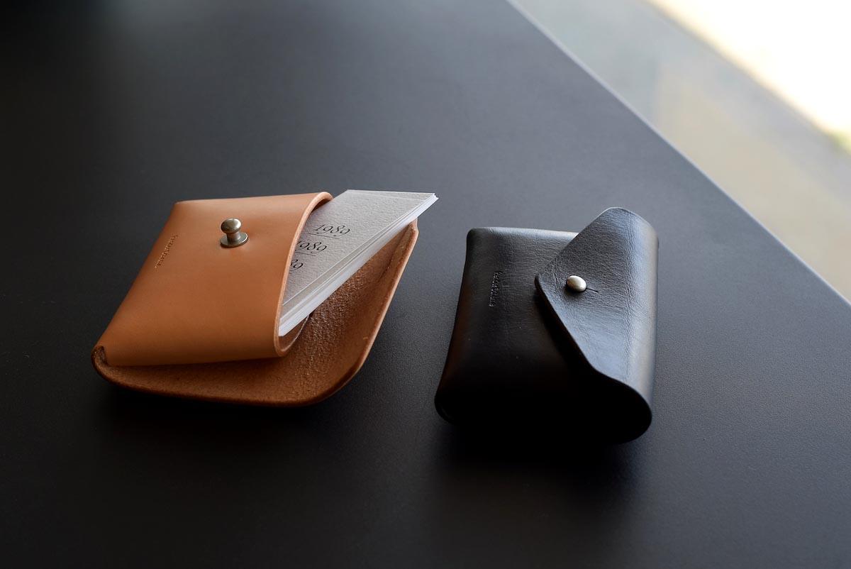 Hender Scheme / one piece card case 2色