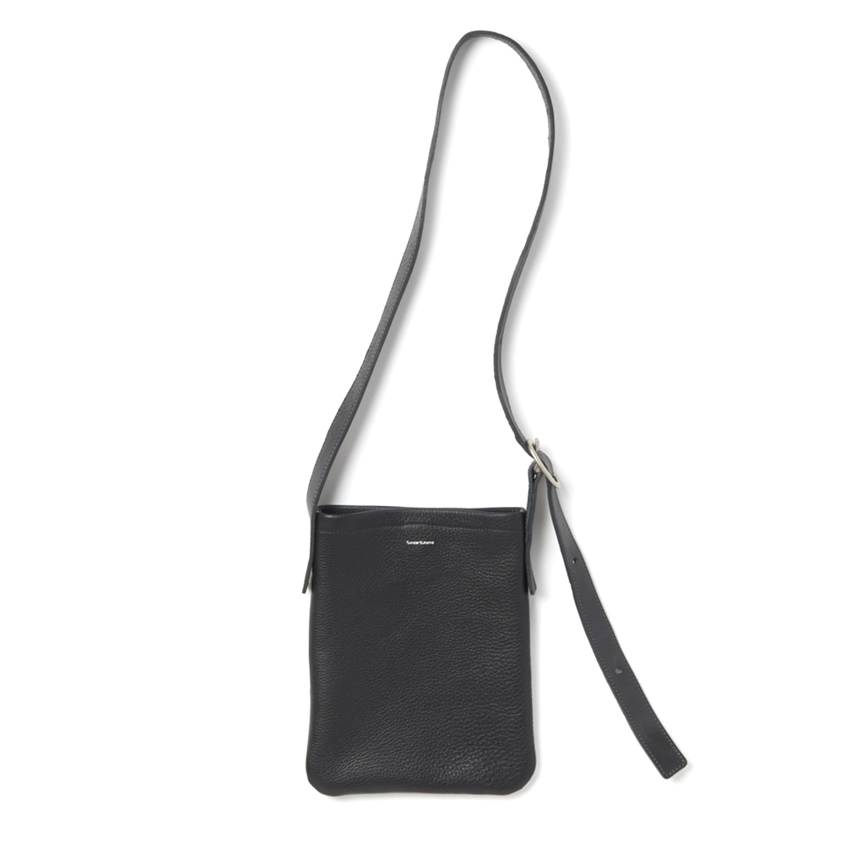 Hender Scheme / one side belt bag small -Black