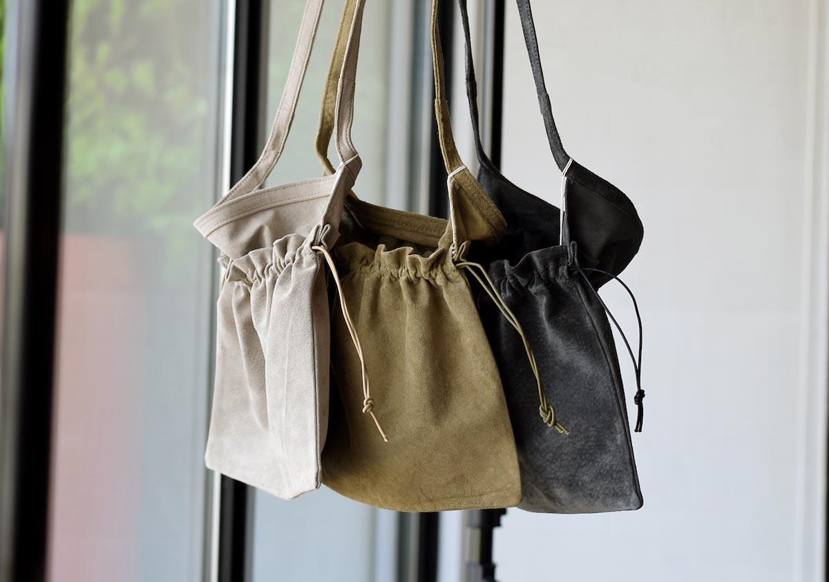 Hender Scheme / red cross bag small 3色