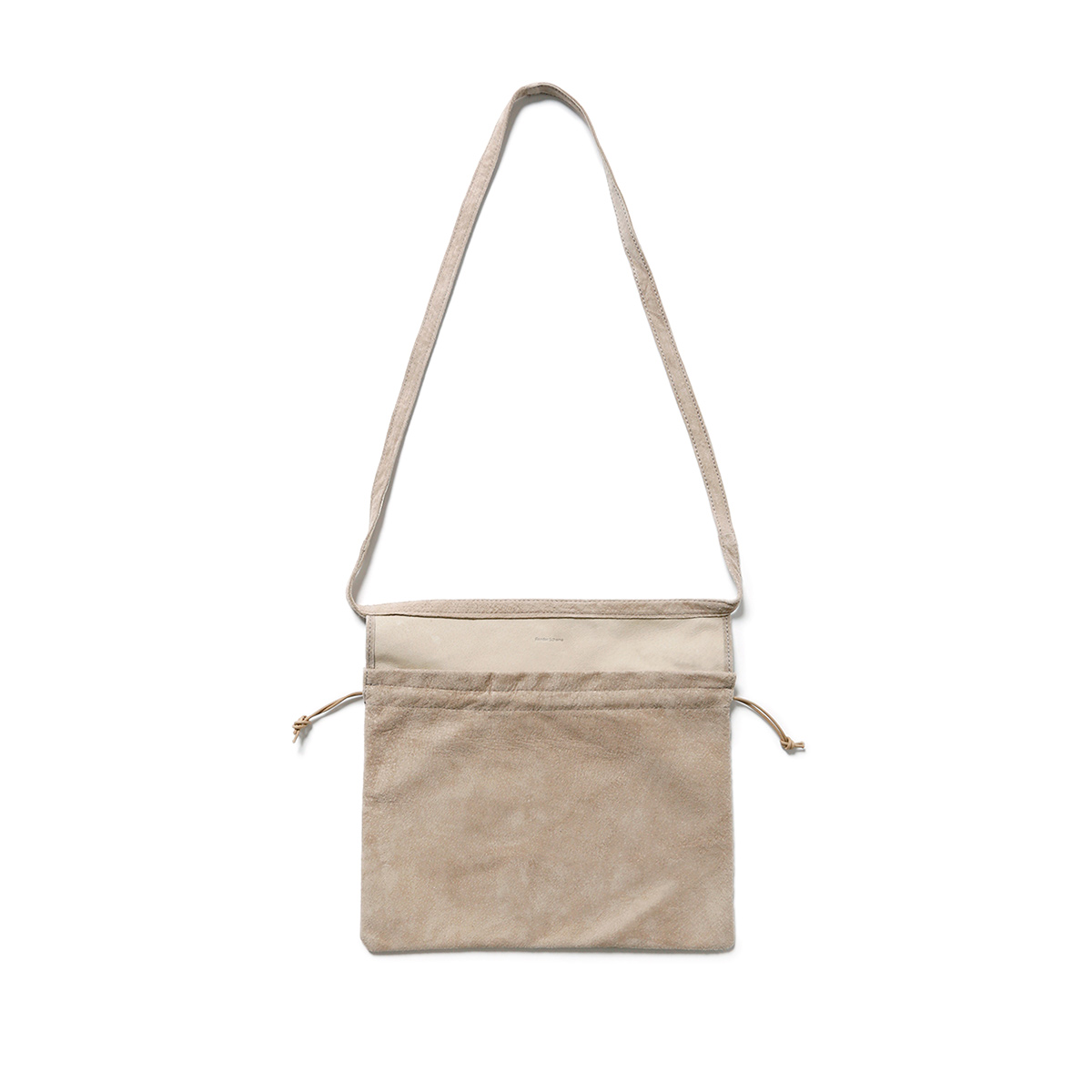 Hender Scheme / red cross bag small -Beige